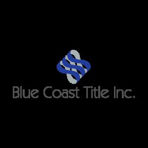 Blue coast Title